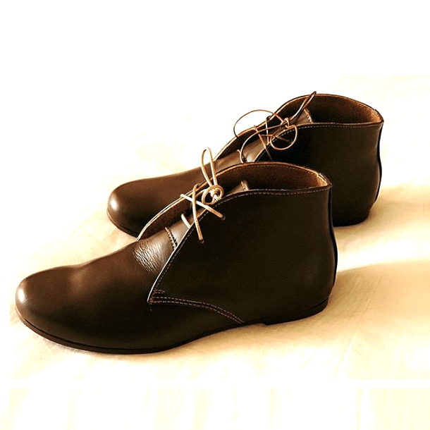 Imported leather ankle boot for men