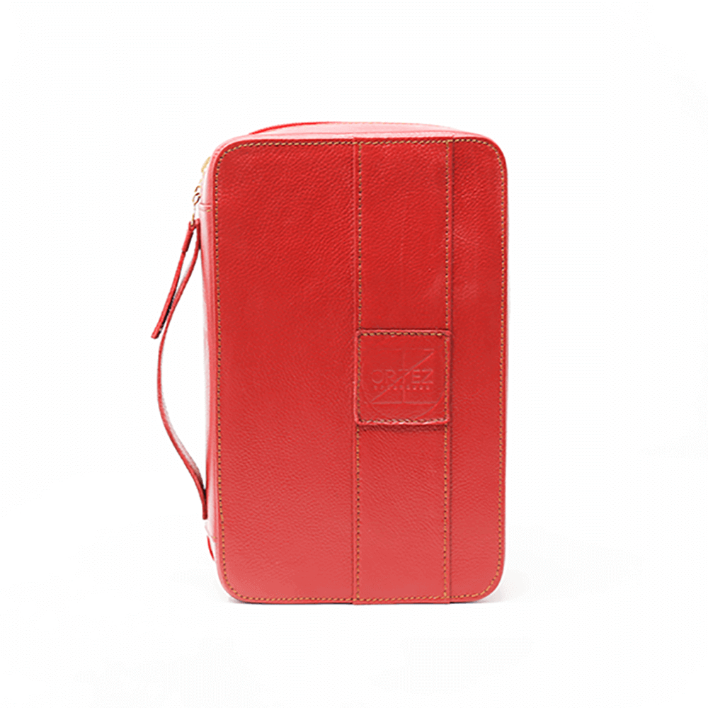 Red 3 Pockets Churchill Case
