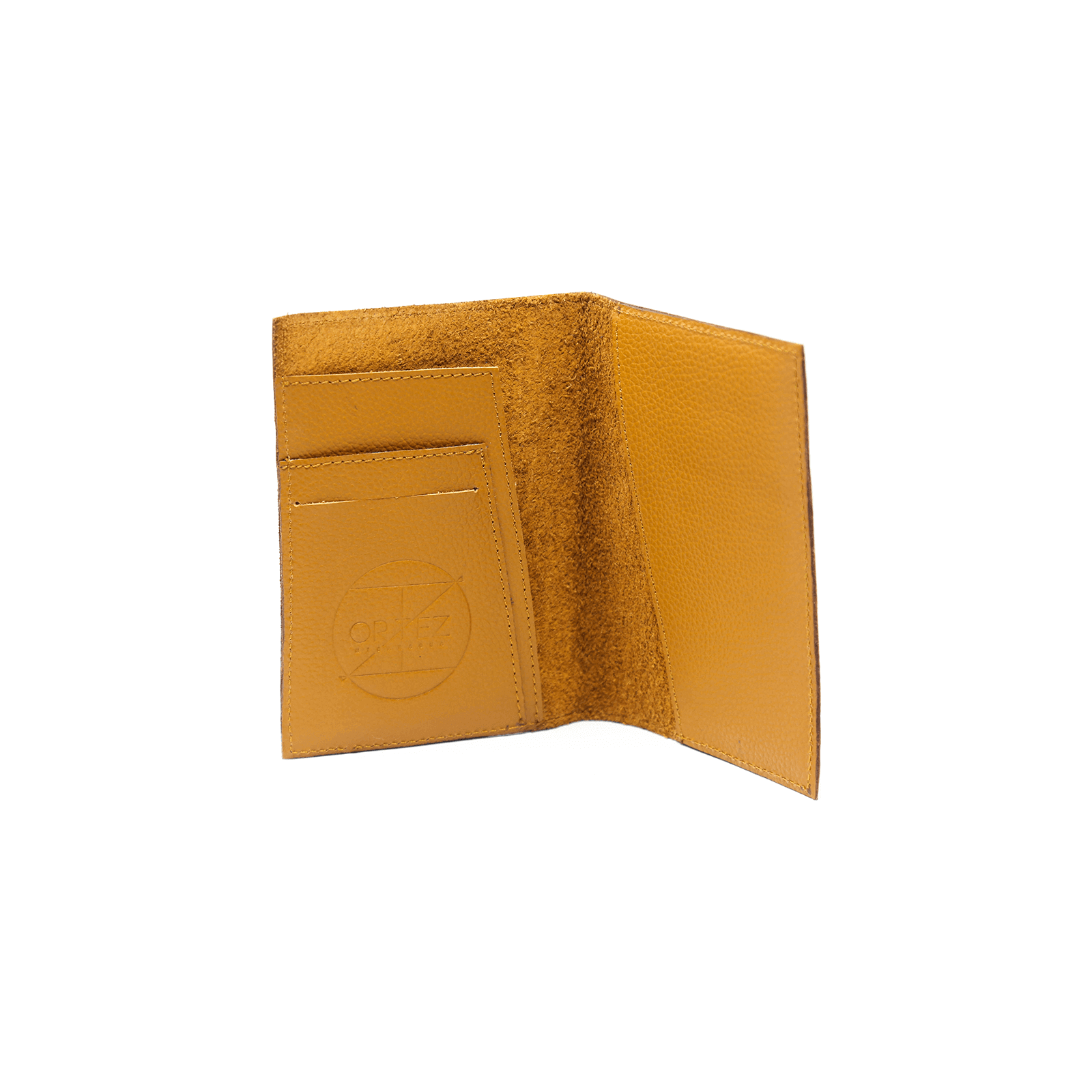 Medium Yellow Passport Wallet